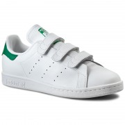 Обувки adidas - Stan Smith CF S75187 Ftwwht/Ftwwht/Green