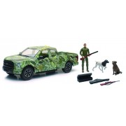 Wildlife Hunter with Ford F-150 Pick Up Hunting Set