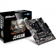 Дънна платка asrock j3455m, intel quad-core processor j3455, asr-mb-j3455m