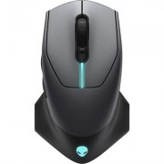 Alienware 610M Wired / Wireless Gaming Mouse - AW610M (Dark Side of the Moon)