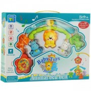 Бебешка музикална въртележка за кошара Animal bed bell, 503116170