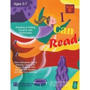 I Can Read - Book B, Orton-Gillingham Based Reading Lessons for Young Students Who Struggle with Reading and May Have Dyslexia, Paperback/Cheryl Orlassino