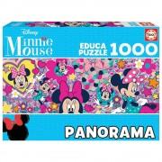 Educa Disney Minnie egér panoráma puzzle, 1000 darabos