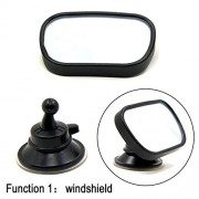 Alcoa Prime Baby Child Car Safety Back Seat Mirror Rear View Easily Adjustable Sun Visor