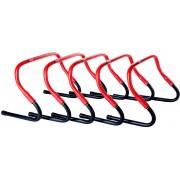 Pure Sprint Horden 5 stuks zwart/rood