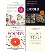 Iota &Jeremy Howick & Henry Firth Bosh! simple recipes [hardcover], hidden healing powers, healthy medic food and doctor you [hardcover] 4 books collection set