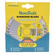 Disc diamantat NovoTools Basic 125x7x22.23 Turbo