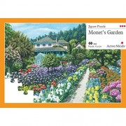 Active Minds Monet's Garden 63 Piece Jigsaw Puzzle: Specialist Alzheimer'S/Dementia Activities and Games