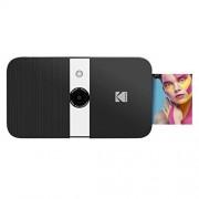 Zink Kodak Smile Cámara Digital con impresión instantánea Cámara Deslizante de 10 MP con Impresora 2x3 (Negro/Blanco)
