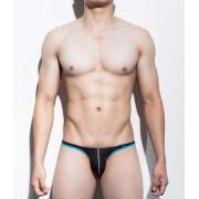 Mategear Nan Song Tapered Sides V Front Series III Ultra Pouch Bikini Swimwear Black 1091203