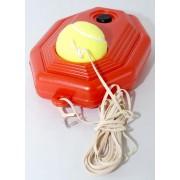 Set de antrenament pentru tenis - minge cu elastic