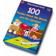 4-7 ani - 100 puzzles about the world and the alphabet