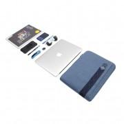 STM Ridge Laptop Sleeve - дизайнерски качествен калъф за MacBook Air 11 и преносими компютри до 11 инча (син)