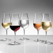 Steger-Glas Magnum, 245 mm hoch 12er-Set, Weinglas, Sektglas, Champagnerglas, Digestivglas