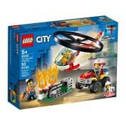 Lego Конструктор Lego City Пожарный спасательный вертолёт 60248