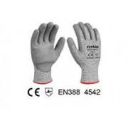 Manusi de protectie - PU + HPPE + textil - rezistente la taiere - XL (INDUSTRIAL)