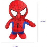 SHRIBOSSJI Dancing Singing Plush SPIDERMAN Musical Soft Toy