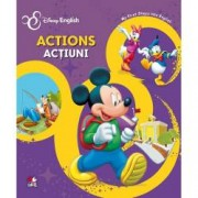 Disney English. Actions Actiuni. My first steps into English