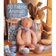 50 Fabric Animals: Fun Sewing Projects for You and Your Home, Paperback