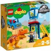 Конструктор ЛЕГО ДУПЛО - Кула за тиранозавър рекс, LEGO DUPLO, 10880