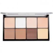 Makeup Revolution Ultra Pro HD Fair кремообразна палитра от контури за лице 20 гр.