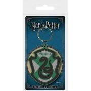 Pyramid Harry Potter - Slytherin Rubber Keychain 6 cm