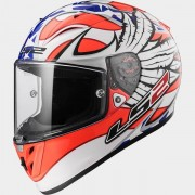 LS2 Casco Integrale Arrow R Evo XXL Nero-Arancione