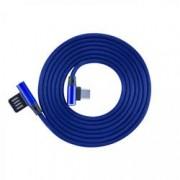 Sbox Cavo USB Angolato 90° USB A/USB-C 1.5m Blu