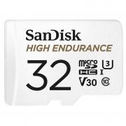 SanDisk High Endurance microSD-Karte mit SD-Adapter, 32 GB, Class 10, U3, V30