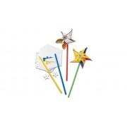 Colorations Bastelset Windräder, 24 Stück