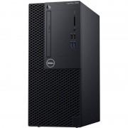 Sistem desktop Dell OptiPlex 3060 MT Intel Core i3-8100 4GB DDR4 1TB HDD Linux 3Yr BOS