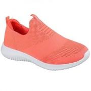 Skechers Womens Ultra Flex First Take Orange