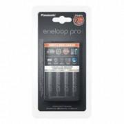 Incarcator Panasonic cu 4 acumulatori Eneloop AA R6 PRO 2500 mA Incarcare rapida