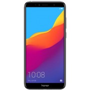 "Telefon Mobil Huawei Honor 7A, Procesor Octa-Core 1.4GHz/1.1GHz, IPS LCD Capacitive touchscreen 5.7"", 2GB RAM, 16GB Flash, Camera Duala 13+2MP, Wi-Fi, 4G, Dual Sim, Android (Negru) + Cartela SIM Orange PrePay, 6 euro credit, 6 GB internet 4G, 2,000 minute"