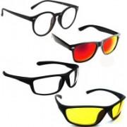 Vitoria Wayfarer, Spectacle , Rectangular Sunglasses(Multicolor)