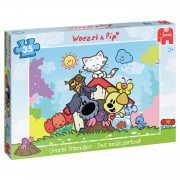 Jumbo puzzel Woezel & Pip Overal vriendjes - 35 stukjes
