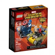 LEGO Super Heroes Mighty Micros Captain America vs. Red S 76065