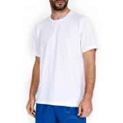SCHIESSER Белая мужская футболка прямого силуэта из легкого хлопка SCHIESSER 152328шис Белый распродажа