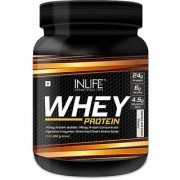 INLIFE Whey Protein Powder 1 lbs(Cookies cream) Body Building Supplement