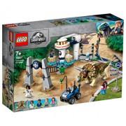 LEGO Jurassic World, Triceratops dezlantuit 75937
