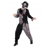 Vegaoo Kostym för psykopatisk clown herrar XL