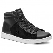 Сникърси LACOSTE - Carnaby Evo Mid 318 1 Spw 7-36SPW0017312 Blk/Wht
