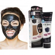 Blackhead Remover Mask Suction Black Mask ToullGo Purifying Blackhead Black Pore Removal Peel off Strip Charcoal Mask for Face Nose - Deep Clean Facial Mask