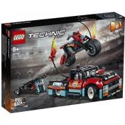 Lego 42106 - Technic Stunt-Show mit Truck und Motorrad