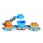 Little Tikes Big Adventures - Road N Rail Set, Multi Color (3 Pieces)