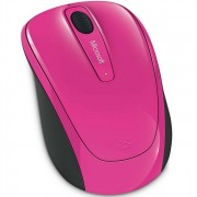 Mouse de notebook Microsoft Wireless Mobile Mouse 3500 Pink