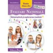 Evaluare Nationala - Matematica si explorarea mediului cls. a II-a