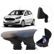 Apoio de Braço Ford Ka com USB coifa e porta-objetos