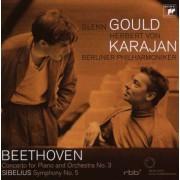 Glenn Gould - Beethoven Piano Concerto No. 3/ Sibelius (0886972878225) (1 CD)