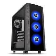 Versa J25 Tempered Glass RGB Edition Black (CA-1L8-00M1WN-01)